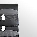レメックス レメックスジャパン REC-126AX メッシュチェア リクライニングチェア ハイバックチェア
